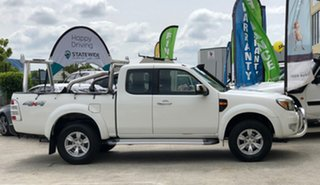 2011 Ford Ranger PK XLT (4x4) White 5 Speed Automatic Super Cab Utility