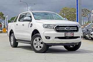 2019 Ford Ranger PX MkIII 2019.75MY XLT Pick-up Double Cab White 10 Speed Sports Automatic Utility.