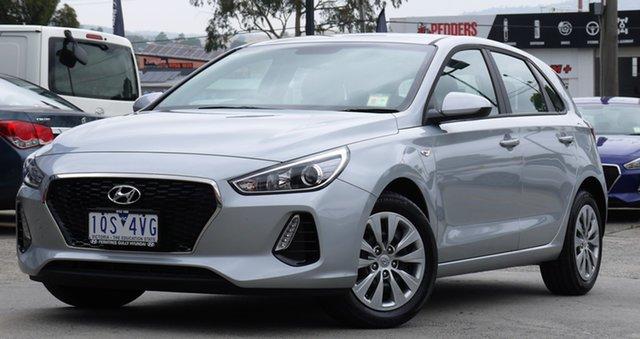Demo Hyundai i30 PD MY19 Go, 2019 Hyundai i30 PD MY19 Go Typhoon Silver 6 Speed Sports Automatic Hatchback