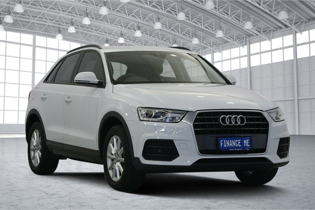 Used Audi Q3 8U MY17 TFSI S Tronic, 2017 Audi Q3 8U MY17 TFSI S Tronic White 6 Speed Sports Automatic Dual Clutch Wagon