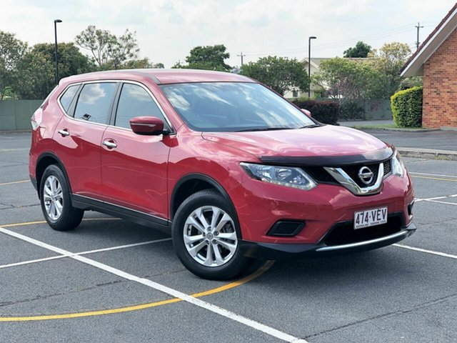 Used Nissan X-Trail T32 ST (4x4), 2014 Nissan X-Trail T32 ST (4x4) Red Continuous Variable Wagon