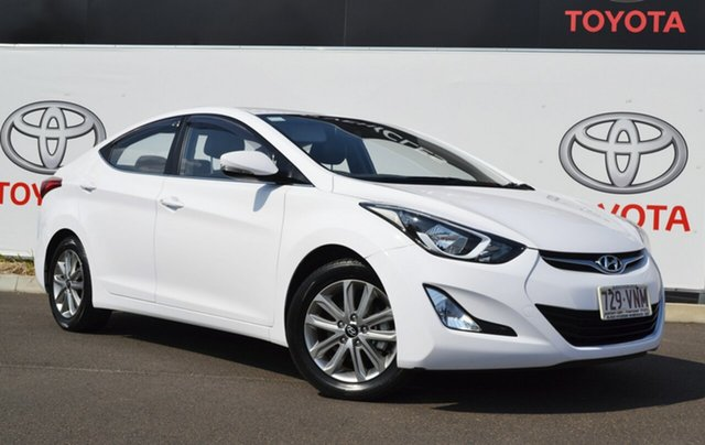 Used Hyundai Elantra MD Series 2 (MD3) Active Special Edition, 2015 Hyundai Elantra MD Series 2 (MD3) Active Special Edition White 6 Speed Automatic Sedan