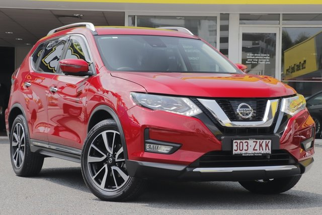 Used Nissan X-Trail T32 Series II Ti X-tronic 4WD, 2018 Nissan X-Trail T32 Series II Ti X-tronic 4WD Red 7 Speed Constant Variable Wagon