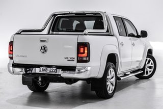 2018 Volkswagen Amarok 2H MY18 TDI550 4MOTION Perm Ultimate White 8 Speed Automatic Utility.