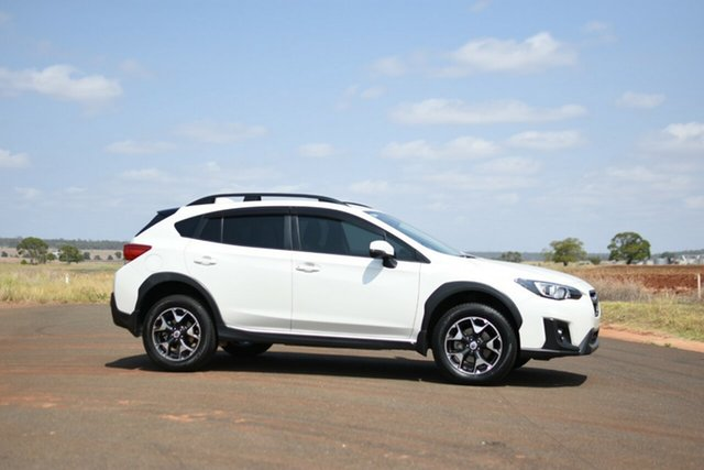 Used Subaru XV MY18 2.0I-L, 2017 Subaru XV MY18 2.0I-L Crystal White Continuous Variable Wagon