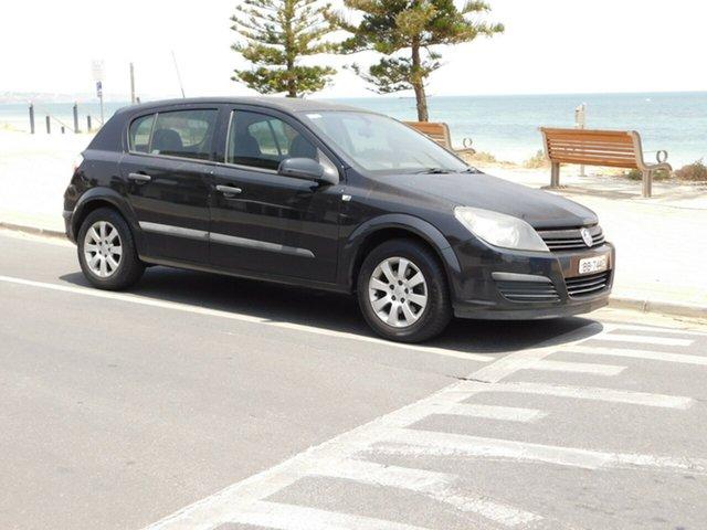 Used Holden Astra AH MY05 CD, 2005 Holden Astra AH MY05 CD Black 4 Speed Automatic Hatchback