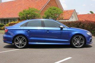 2016 Audi S3 8V MY16 S Tronic Quattro Blue 6 Speed Sports Automatic Dual Clutch Sedan.