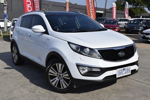 Used Kia Sportage SL MY15 Platinum AWD, 2015 Kia Sportage SL MY15 Platinum AWD White 6 Speed Sports Automatic Wagon