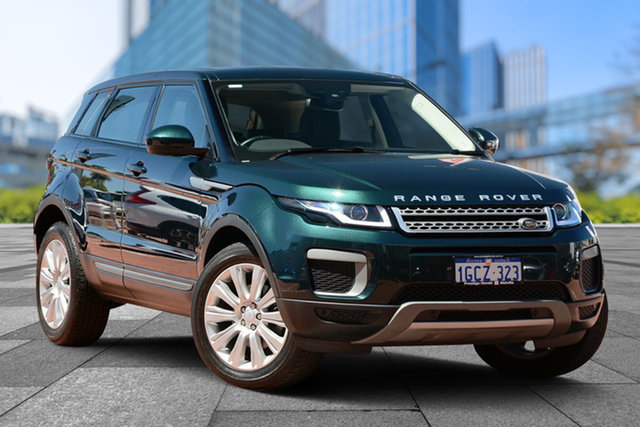 Used Land Rover Range Rover Evoque L538 MY16.5 TD4 150 Pure, 2016 Land Rover Range Rover Evoque L538 MY16.5 TD4 150 Pure Green 9 Speed Sports Automatic Wagon