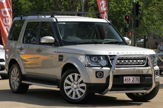 2014 Land Rover Discovery Series 4 L319 MY14 TDV6 Gold 8 Speed Sports Automatic Wagon.