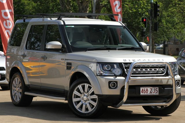 Used Land Rover Discovery Series 4 L319 MY14 TDV6, 2014 Land Rover Discovery Series 4 L319 MY14 TDV6 Gold 8 Speed Sports Automatic Wagon