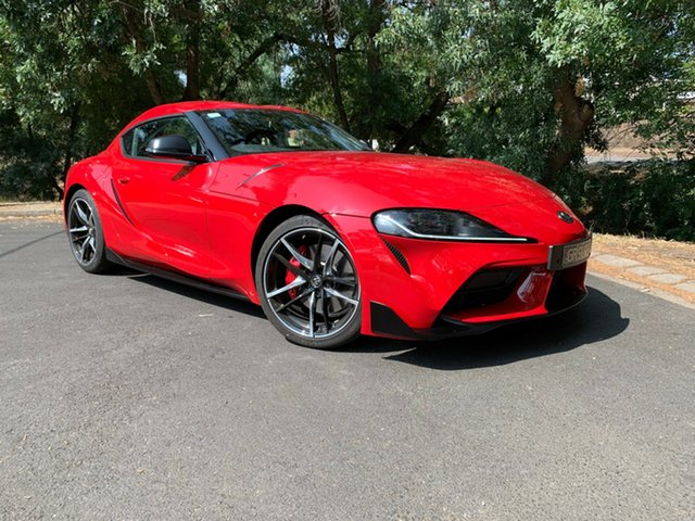 Demo Toyota Supra J29 GR GTS, 2019 Toyota Supra J29 GR GTS Monza Red 8 Speed Sports Automatic Coupe