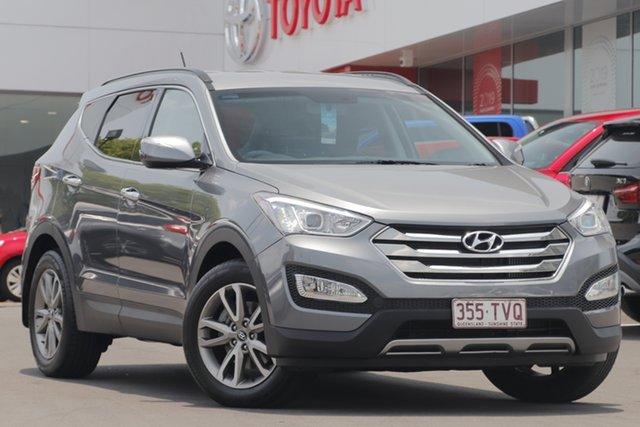 Used Hyundai Santa Fe DM MY14 Elite, 2014 Hyundai Santa Fe DM MY14 Elite Grey 6 Speed Sports Automatic Wagon
