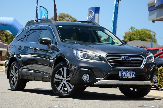 Demo Subaru Outback B6A MY19 2.5i CVT AWD, 2019 Subaru Outback B6A MY19 2.5i CVT AWD Magnetite Grey 7 Speed Constant Variable Wagon
