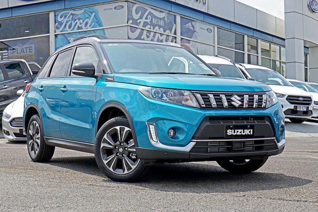 New Suzuki Vitara LY Series II Turbo 2WD, 2019 Suzuki Vitara LY Series II Turbo 2WD Blue & Black 6 Speed Sports Automatic Wagon