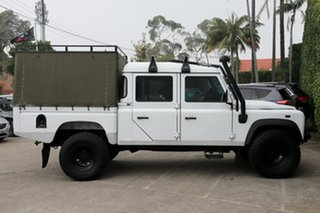 2012 Land Rover Defender MY12 130 Hcpu (4x4) White 6 Speed Manual Crew Cab Pickup