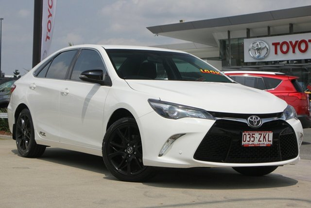 Used Toyota Camry ASV50R RZ, 2017 Toyota Camry ASV50R RZ Diamond White 6 Speed Sports Automatic Sedan
