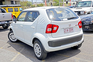 2019 Suzuki Ignis MF GL White 1 Speed Constant Variable Hatchback.