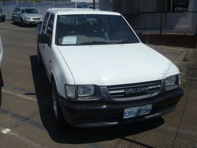 Used Holden Rodeo TF R9 DX 4x2, 2001 Holden Rodeo TF R9 DX 4x2 Alpine White 5 Speed Manual Utility