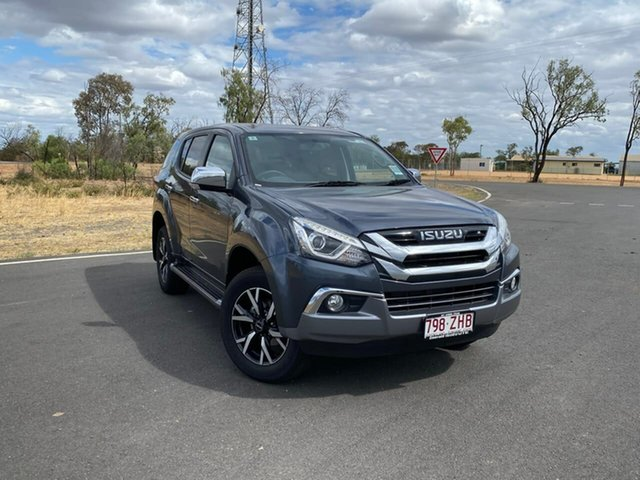 Demo Isuzu MU-X MY19 LS-U Rev-Tronic, 2019 Isuzu MU-X MY19 LS-U Rev-Tronic Obsidian Grey 6 Speed Sports Automatic Wagon