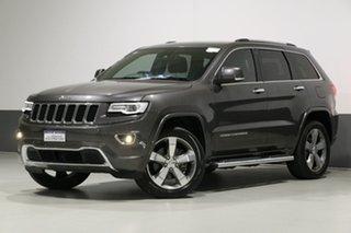 2015 Jeep Grand Cherokee WK MY15 Overland (4x4) Grey 8 Speed Automatic Wagon.