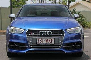 2016 Audi S3 8V MY16 S Tronic Quattro Blue 6 Speed Sports Automatic Dual Clutch Sedan