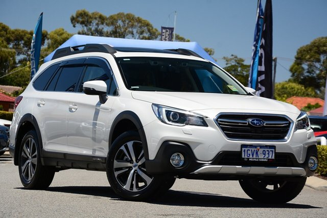Demo Subaru Outback B6A MY19 2.5i CVT AWD Premium, 2019 Subaru Outback B6A MY19 2.5i CVT AWD Premium Crystal White 7 Speed Constant Variable Wagon