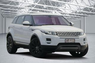 2014 Land Rover Range Rover Evoque LV MY14 SD4 Prestige Fuji White 9 Speed Automatic Wagon.
