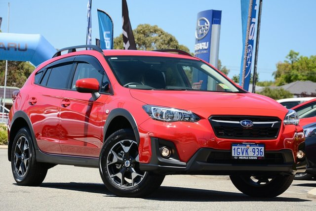 Demo Subaru XV G5X MY19 2.0i Lineartronic AWD, 2019 Subaru XV G5X MY19 2.0i Lineartronic AWD Pure Red 7 Speed Constant Variable Wagon