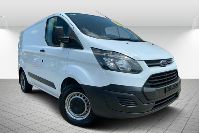 Used Ford Transit Custom VN 290S Low Roof SWB, 2014 Ford Transit Custom VN 290S Low Roof SWB White 6 Speed Manual Van