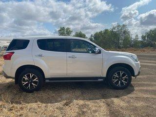 2019 Isuzu MU-X MY19 LS-U Rev-Tronic Silky White 6 Speed Sports Automatic Wagon