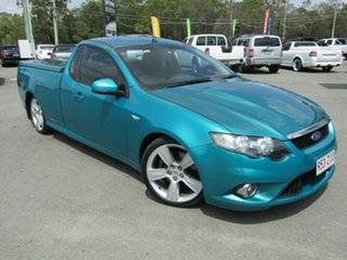 2008 Ford Falcon FG XR8 Green 6 Speed Auto Seq Sportshift Utility.