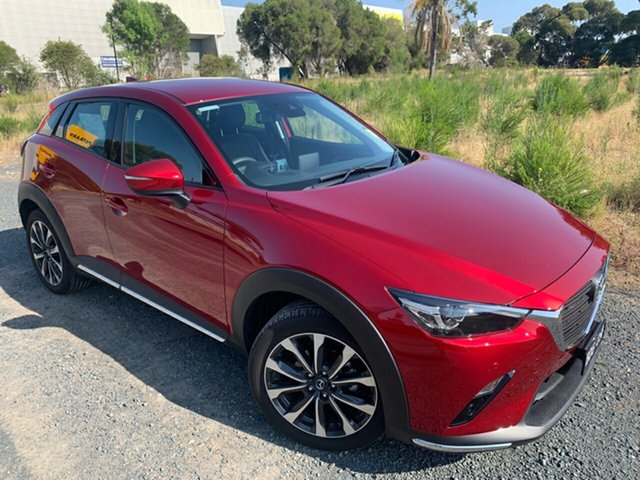 Demo Mazda CX-3 DK MY19 S Touring (FWD), 2019 Mazda CX-3 DK MY19 S Touring (FWD) Soul Red Crystal 6 Speed Automatic Wagon