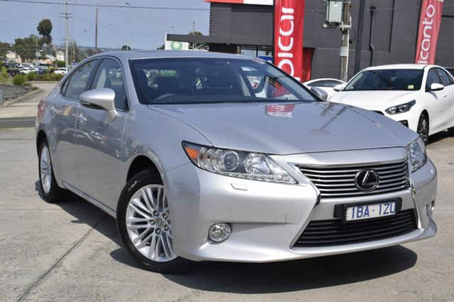 Used Lexus ES GSV60R ES350 Luxury, 2014 Lexus ES GSV60R ES350 Luxury Silver 6 Speed Sports Automatic Sedan