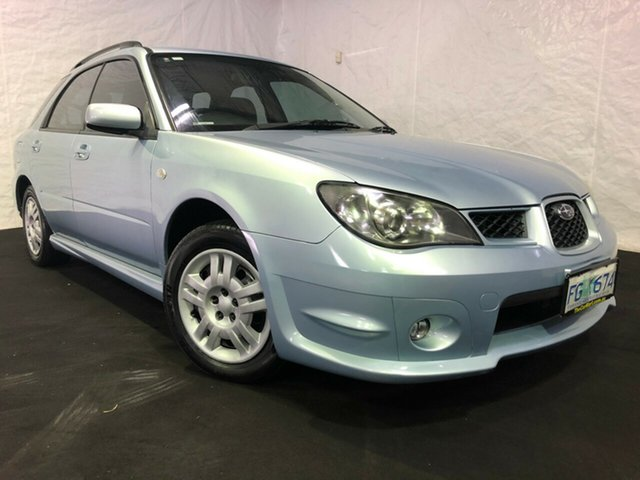 Used Subaru Impreza S MY05 GX AWD, 2005 Subaru Impreza S MY05 GX AWD Blue 4 Speed Automatic Hatchback