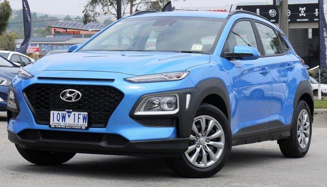 Demo Hyundai Kona OS.3 MY20 Go 2WD, 2019 Hyundai Kona OS.3 MY20 Go 2WD 6 Speed Sports Automatic Wagon