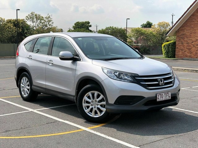 Used Honda CR-V 30 MY15 VTi (4x2), 2014 Honda CR-V 30 MY15 VTi (4x2) Silver 5 Speed Automatic Wagon