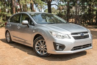 2014 Subaru Impreza G4 MY14 2.0i Lineartronic AWD Luxury Silver 6 Speed Constant Variable Hatchback.