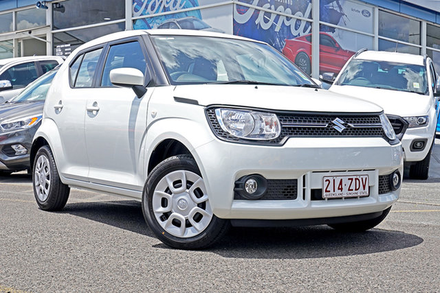 Demo Suzuki Ignis MF GL, 2019 Suzuki Ignis MF GL White 1 Speed Constant Variable Hatchback
