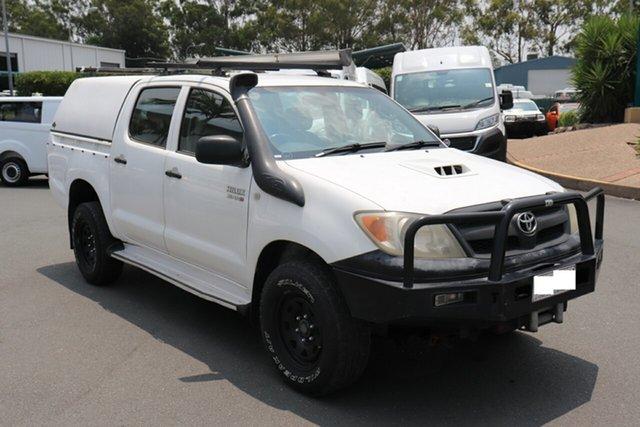 Used Toyota Hilux KUN26R MY05 SR, 2005 Toyota Hilux KUN26R MY05 SR White 5 speed Manual Utility