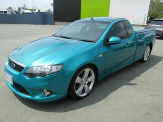 2008 Ford Falcon FG XR8 Green 6 Speed Auto Seq Sportshift Utility