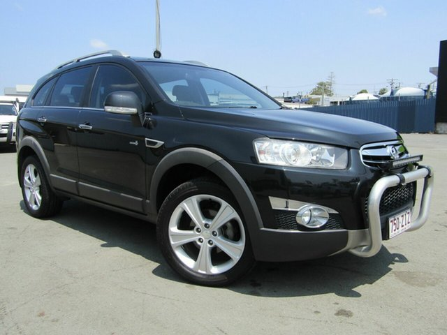 Used Holden Captiva CG Series II 7 LX (4x4), 2012 Holden Captiva CG Series II 7 LX (4x4) Black 6 Speed Automatic Wagon