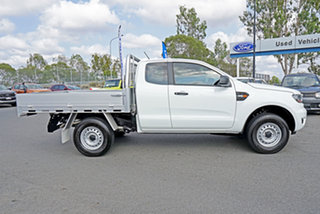 2018 Ford Ranger PX MkIII 2019.00MY XL Super Cab 4x2 Hi-Rider Cool White 6 Speed Sports Automatic