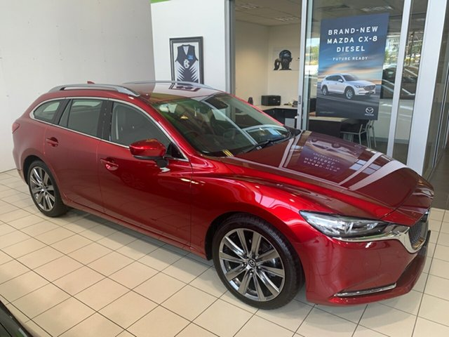 New Mazda 6 6C MY18 (gl) GT (5Yr), 2019 Mazda 6 6C MY18 (gl) GT (5Yr) Soul Red Crystal 6 Speed Automatic Wagon