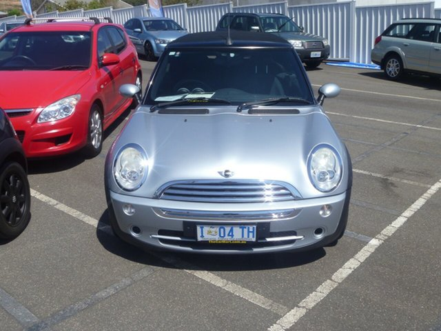 Used Mini Hatch R50 MY05 Cooper, 2005 Mini Hatch R50 MY05 Cooper Silver 5 Speed Manual Hatchback
