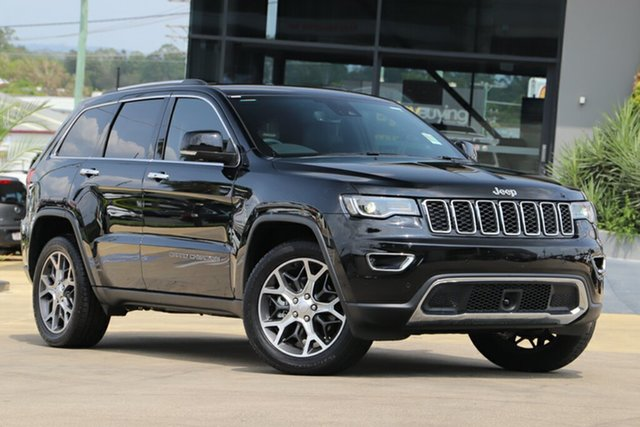 Used Jeep Grand Cherokee WK MY19 Limited, 2019 Jeep Grand Cherokee WK MY19 Limited Diamond Black 8 Speed Sports Automatic Wagon