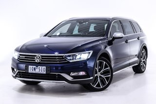 2018 Volkswagen Passat 3C (B8) MY18 Alltrack DSG 4MOTION Wolfsburg Edition Blue 7 Speed.