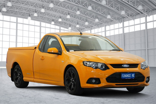 Used Ford Falcon FG MkII XR6 Ute Super Cab, 2014 Ford Falcon FG MkII XR6 Ute Super Cab Orange 6 Speed Sports Automatic Utility