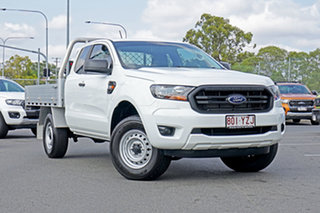 2018 Ford Ranger PX MkIII 2019.00MY XL Super Cab 4x2 Hi-Rider Cool White 6 Speed Sports Automatic.