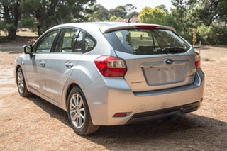 2014 Subaru Impreza G4 MY14 2.0i Lineartronic AWD Luxury Silver 6 Speed Constant Variable Hatchback